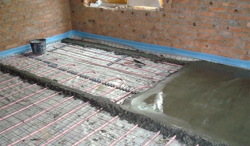 Смеси для бетонной стяжки сколько цементного раствора в 1 кубе