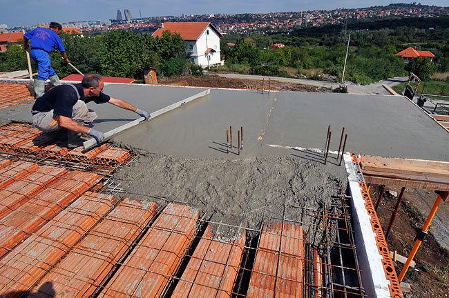 бетон для перекрытия