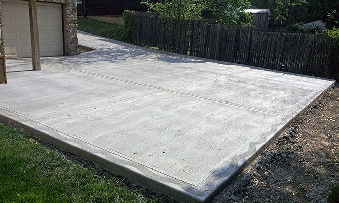 бетон площадь
